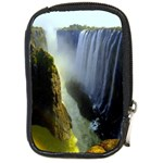 Victoria Falls Zambia Compact Camera Leather Case