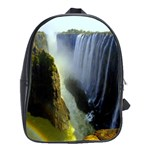 Victoria Falls Zambia School Bag (Large)