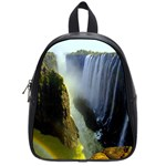 Victoria Falls Zambia School Bag (Small)
