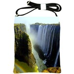 Victoria Falls Zambia Shoulder Sling Bag