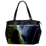 Victoria Falls Zambia Oversize Office Handbag (One Side)