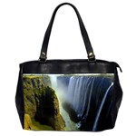 Victoria Falls Zambia Oversize Office Handbag (Two Sides)