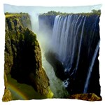 Victoria Falls Zambia Large Cushion Case (One Side)