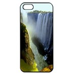 Victoria Falls Zambia Apple iPhone 5 Seamless Case (Black)