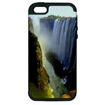 Victoria Falls Zambia Apple iPhone 5 Hardshell Case (PC+Silicone)
