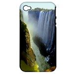 Victoria Falls Zambia Apple iPhone 4/4S Hardshell Case (PC+Silicone)