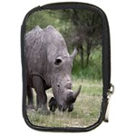 Wild Animal Rhino Compact Camera Leather Case