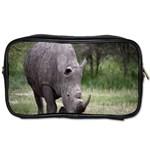 Wild Animal Rhino Toiletries Bag (Two Sides)