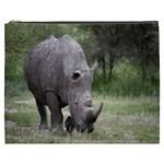 Wild Animal Rhino Cosmetic Bag (XXXL)