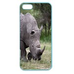 Wild Animal Rhino Apple Seamless iPhone 5 Case (Color)