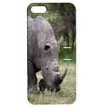 Wild Animal Rhino Apple iPhone 5 Hardshell Case with Stand