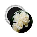 White Rose 2.25  Magnet