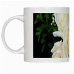 White Rose White Mug