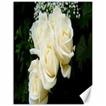 White Rose Canvas 18  x 24