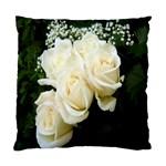 White Rose Cushion Case (Two Sides)