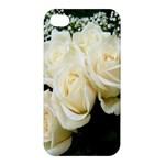 White Rose Apple iPhone 4/4S Premium Hardshell Case