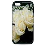 White Rose Apple iPhone 5 Hardshell Case (PC+Silicone)