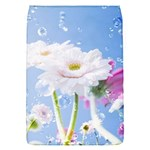 White Gerbera Flower Refresh From Rain Removable Flap Cover (Small)