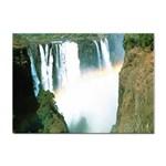 Zambia Waterfall Sticker (A4)