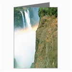 Zambia Waterfall Greeting Cards (Pkg of 8)