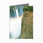 Zambia Waterfall Mini Greeting Cards (Pkg of 8)