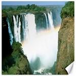 Zambia Waterfall Canvas 12  x 12