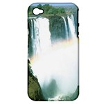 Zambia Waterfall Apple iPhone 4/4S Hardshell Case (PC+Silicone)
