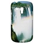 Zambia Waterfall Samsung Galaxy S3 MINI I8190 Hardshell Case