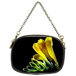 Yellow Freesia Flower Chain Purse (Two Sides)