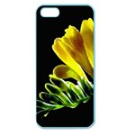 Yellow Freesia Flower Apple Seamless iPhone 5 Case (Color)