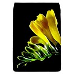 Yellow Freesia Flower Removable Flap Cover (Large)