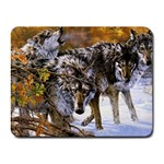 Wolf Family Love Animal Small Mousepad