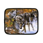 Wolf Family Love Animal Netbook Case (Small)