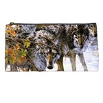 Wolf Family Love Animal Pencil Case