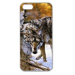 Wolf Family Love Animal Apple Seamless iPhone 5 Case (Clear)