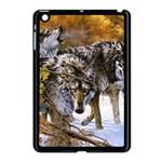 Wolf Family Love Animal Apple iPad Mini Case (Black)
