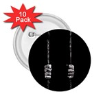 Being Behide The Bars Does Not Mean I Am Guilty 2.25  Button (10 pack)