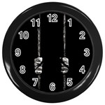 Being Behide The Bars Does Not Mean I Am Guilty Wall Clock (Black)