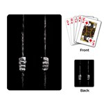 Being Behide The Bars Does Not Mean I Am Guilty Playing Cards Single Design