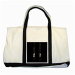 Being Behide The Bars Does Not Mean I Am Guilty Two Tone Tote Bag