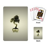 Beauty Of Peaceful Bonsai Tree Playing Cards Single Design