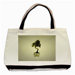 Beauty Of Peaceful Bonsai Tree Classic Tote Bag (Two Sides)