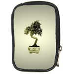 Beauty Of Peaceful Bonsai Tree Compact Camera Leather Case