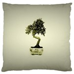 Beauty Of Peaceful Bonsai Tree Large Cushion Case (One Side)