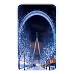 London Eye And  Ferris Wheel Christmas Memory Card Reader (Rectangular)