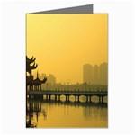Lotus Lake Kaoshiung Taiwan Greeting Cards (Pkg of 8)