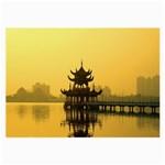 Lotus Lake Kaoshiung Taiwan Glasses Cloth (Large)