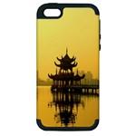 Lotus Lake Kaoshiung Taiwan Apple iPhone 5 Hardshell Case (PC+Silicone)