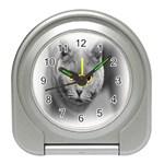 Animal Cat Golden Eyes Travel Alarm Clock