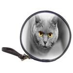 Animal Cat Golden Eyes Classic 20-CD Wallet